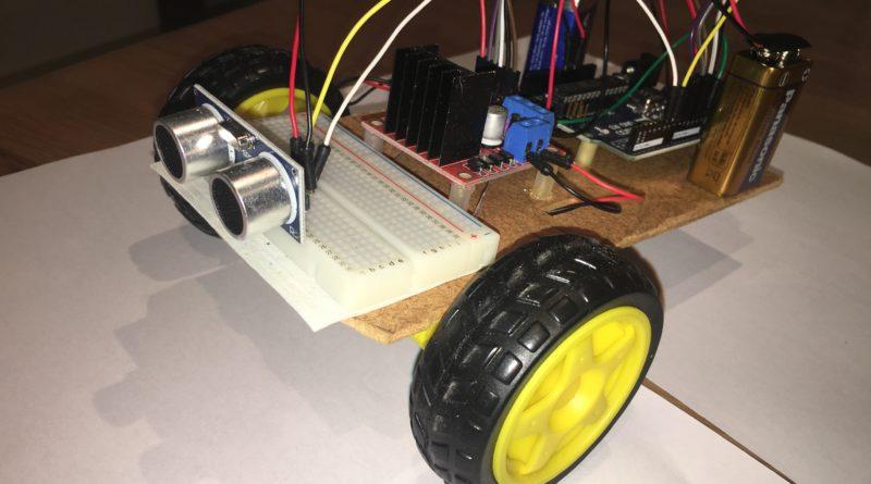 Robot à ultrasons sur une base arduino