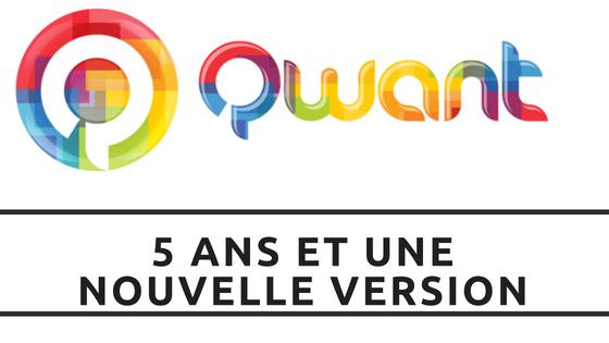 Nouvelle version de Qwant