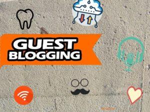 Guest blogging – obtenir des liens