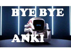 Anki ferme ses portes