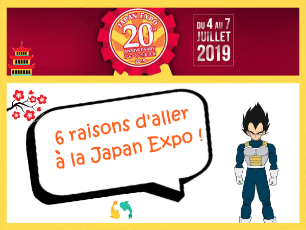 6 raisons d'aller à la Japan Expo