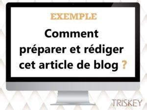 Comment j'ai rédigé et préparé cet article de blog ?
