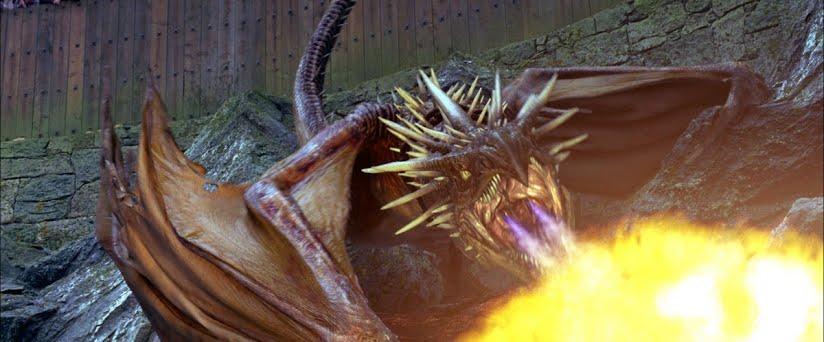 Le dragon vu dans le film Harry Potter