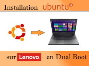 Installation Ubuntu sur Lenovo G50-40 en Dual Boot